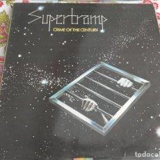 Discos de vinilo: SUPERTRAMP - CRIME OF THE CENTURY (LP, ALBUM, RE)A&M RECORDS 68.258-AMLS. VG+ / VG+. Lote 262915490