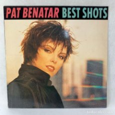 Discos de vinilo: LP - VINILO PAT BENATAR - BEST SHOTS - ESPAÑA - AÑO 1987. Lote 262915515