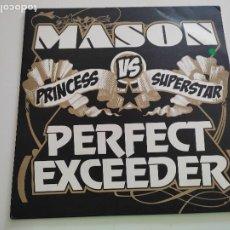 """Discos de vinilo: MASON VS PRINCESS SUPERSTAR - PERFECT (EXCEEDER) (12""""). Lote 262917140"""
