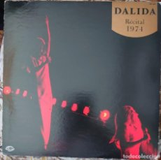 Discos de vinilo: DALIDA LP SELLO SEVEN SEAS EDITADO EN JAPÓN AÑO 1974 CON ENCARTE TRÍPTICO.... Lote 262919385