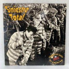 Discos de vinilo: LP - VINILO SINIESTRO TOTAL - TRABAJAR PARA EL ENEMIGO - DOBLE LP - ESPAÑA - AÑO 1992. Lote 262920110