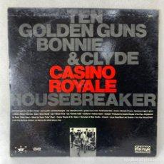 Discos de vinilo: LP - VINILO CASINO ROYALE - GO FOR THE MONEY - ITALIA - AÑO 1989. Lote 262921710