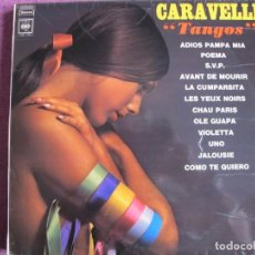 Disques de vinyle: LP - CARAVELLI - TANGOS (ENGLAND, CBS 1969). Lote 262922210