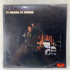 Discos de vinilo: LP - VINILO NINO BRAVO - TE QUIERO, TE QUIERO - ESPAÑA - AÑO 1970. Lote 262923710