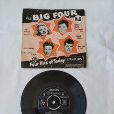 Discos de vinilo: THE BIG FOUR-NO.3,EP, SHIRLEY BASSEY, RONNIE CARROLL. Lote 262926390