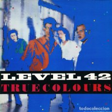 Discos de vinilo: LEVEL 42 * LP VINILO 1984 * TRUE COLORS * RARE. Lote 262929735