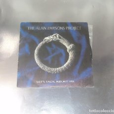 Discos de vinilo: THE ALAN PARSONS PROJECT --- LET´S TALK ABOUT ME / HAWKEYE------ MINT ( M ). Lote 262929885