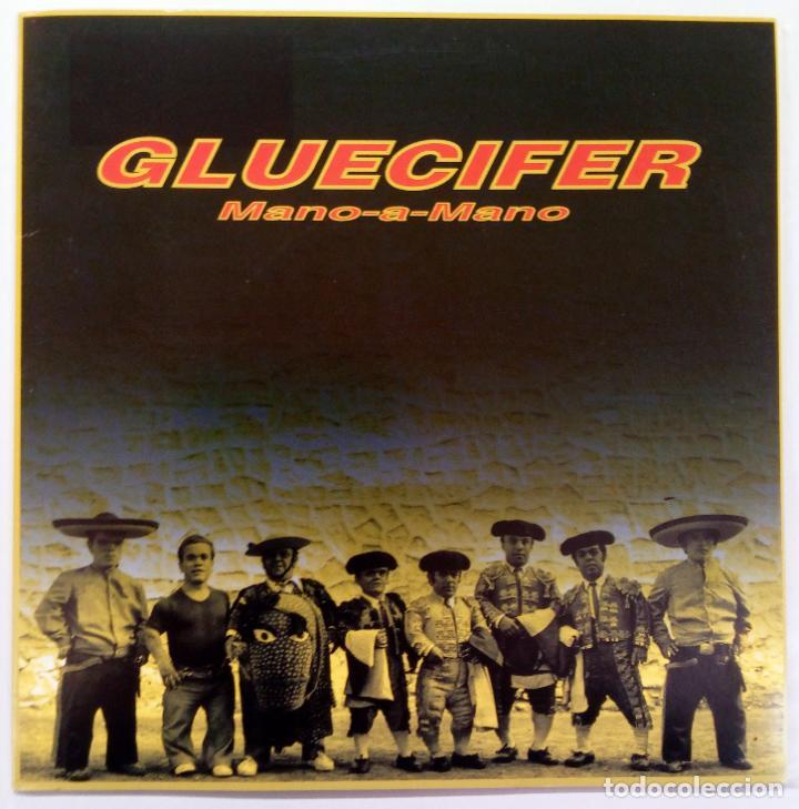 GLUECIFER -MANO-A-MANO -REMEDY (Música - Discos - Singles Vinilo - Punk - Hard Core)