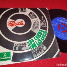 Discos de vinilo: LOS BRAVOS AL PONERSE EL SOL/BYE BYE BABY +2 EP 7'' 1967 COLUMBIA LOS CHICOS CON LAS CHICAS BSO. Lote 262931265