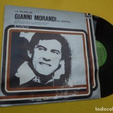 Discos de vinilo: LP GIANNI MORANDI - EN ESPAÑOL - SPAIN PRESS - NL - 31437 (EX-/EX) 3. Lote 262931430