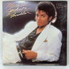 Discos de vinilo: LP - VINILO MICHAEL JACKSON - THRILLER - DOBLE PORTADA + ENCARTE - ESPAÑA - AÑO 1982. Lote 262933665