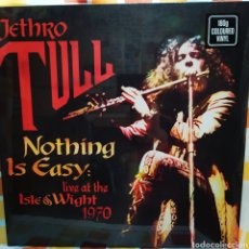Discos de vinilo: JETHRO TULL–NOTHING IS EASY - LIVE AT THE ISLE OF WIGHT 1970. DOBLE LP VINILO NUEVO PRECINTADO. Lote 262933890