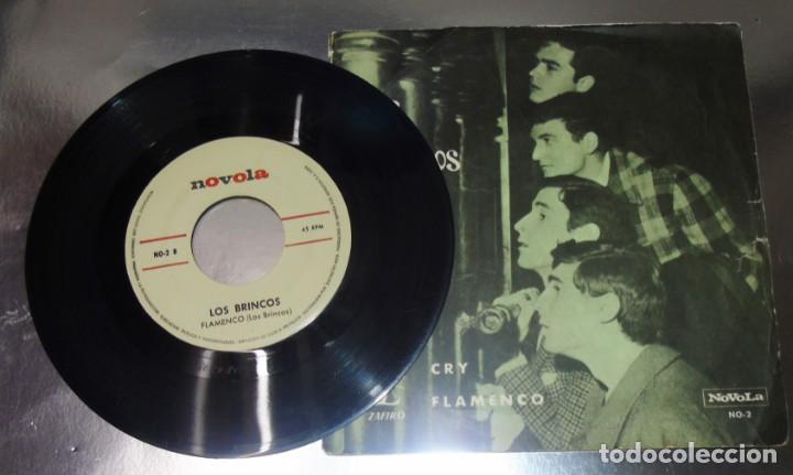 Discos de vinilo: LOS BRINCOS --- FLAMENCO & CRY VINILO MINT ( M ) FUNDA VG+ - Foto 7 - 262934475