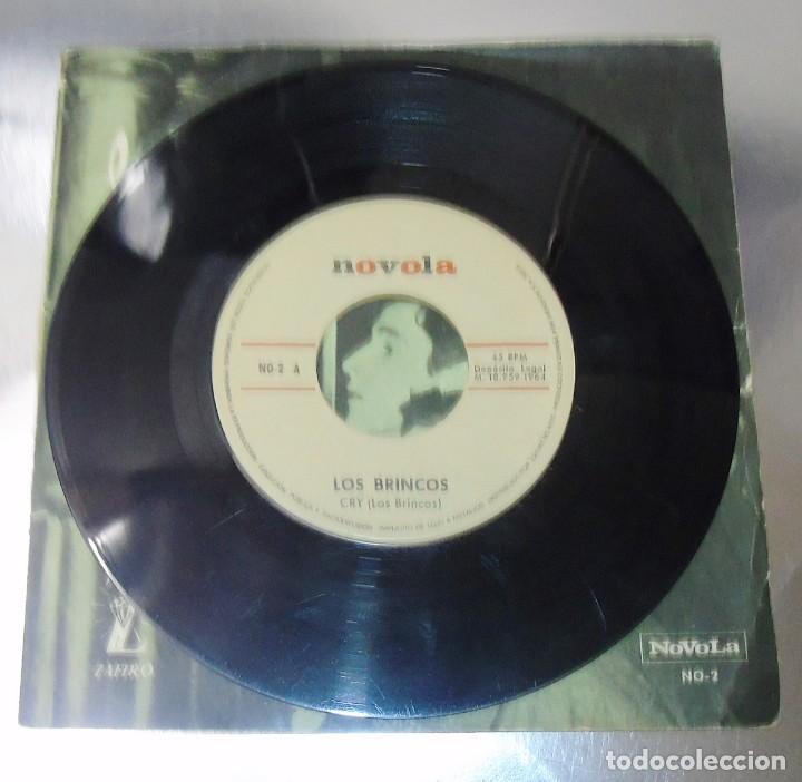 Discos de vinilo: LOS BRINCOS --- FLAMENCO & CRY VINILO MINT ( M ) FUNDA VG+ - Foto 5 - 262934475