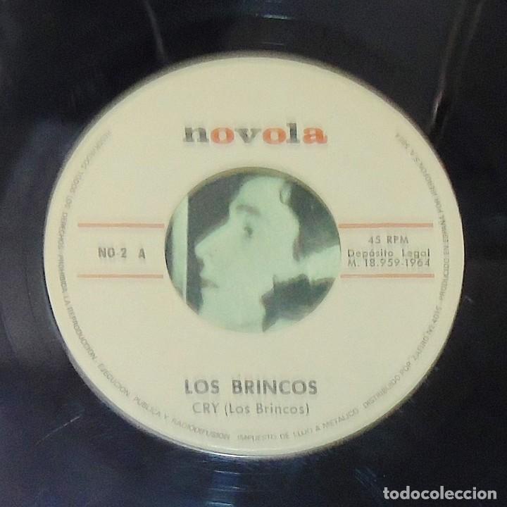 Discos de vinilo: LOS BRINCOS --- FLAMENCO & CRY VINILO MINT ( M ) FUNDA VG+ - Foto 6 - 262934475
