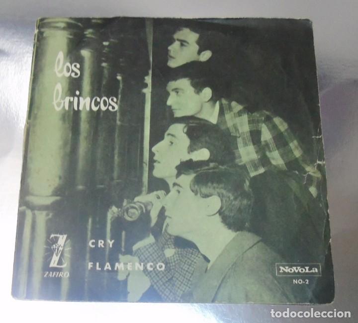 LOS BRINCOS --- FLAMENCO & CRY VINILO MINT ( M ) FUNDA VG+ (Música - Discos - Singles Vinilo - Pop - Rock Internacional de los 50 y 60)
