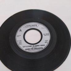 Discos de vinilo: HAMILTON BOHANNON, LET'S START TO DANCE AGAIN, SINGLE. Lote 262937070