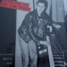 Discos de vinilo: PETER AND THE TEST TUBE BABIES RADIO & STUDIO RARITIES 78-81 LP. Lote 262939570