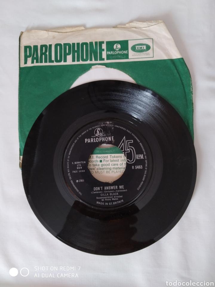 CILLA BLACK, DON'T ANSWER ME,SINGLE (Música - Discos - Singles Vinilo - Pop - Rock Internacional de los 50 y 60)