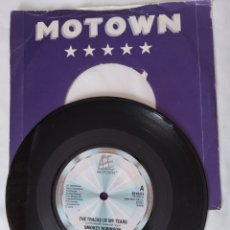 Discos de vinilo: SMOKEY ROBINSON AND THE MIRACLES,TRACKS OF MY TEARS, SINGLE. Lote 262941840