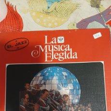 Discos de vinilo: JAZZ 4 DISCOS COLA MÚSICA ELEGIDA CBS NUEVOS ESTADO 1982 DISCOS COLISEVM COLECCIONISMO ANTIGÜEDADES. Lote 262945745