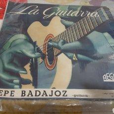 Discos de vinilo: LP PEPE BADAJOZ GUITARRA REGAL 33 SLS 1028 BUENO. Lote 262947110