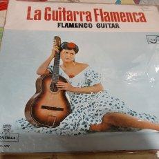 Discos de vinilo: LA GUITARRA FLAMENCA FLAMENCO GUITAR MONTILLA MS 509 ZAFIRO BUENO ESTADO 1962. Lote 262947740