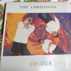 Discos de vinil: THE CHRISTIANS - COLOUR (LP, ALBUM) SELLO:ISLAND RECORDS CAT. Nº: 210 455BUEN ESTADO. VG+++/NM. Lote 262947835