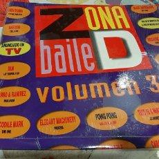 Discos de vinilo: 1 DISCO ZONA BAILE 1992 LP. Lote 262949420