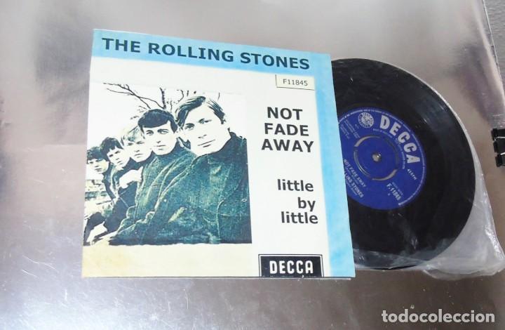 THE ROLLING STONES -- NOT FADE AWAY & LITTLE BY LITTLE---- U.K. 1964 ---NEAR MINT M (Música - Discos - Singles Vinilo - Pop - Rock Internacional de los 50 y 60)