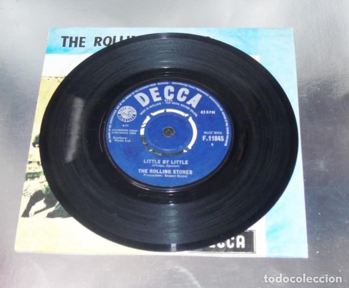 Discos de vinilo: THE ROLLING STONES -- NOT FADE AWAY & LITTLE BY LITTLE---- U.K. 1964 ---NEAR MINT M - Foto 4 - 262951480