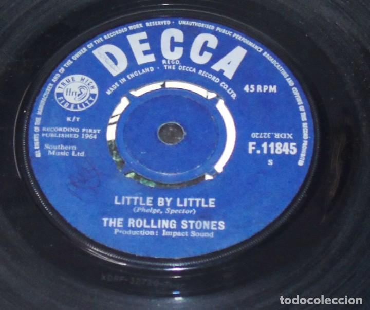Discos de vinilo: THE ROLLING STONES -- NOT FADE AWAY & LITTLE BY LITTLE---- U.K. 1964 ---NEAR MINT M - Foto 5 - 262951480