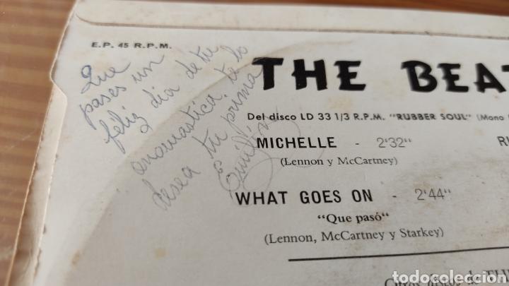 "Discos de vinilo: Disco vinilo single THE BEATLES ""MICHELLE"" - Foto 3 - 262951605"