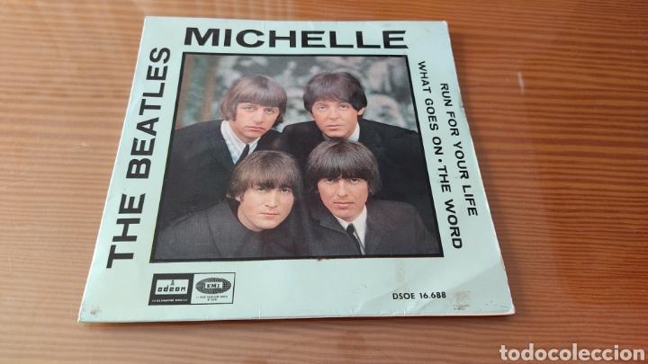"""DISCO VINILO SINGLE THE BEATLES """"MICHELLE"""" (Música - Discos - Singles Vinilo - Pop - Rock Internacional de los 50 y 60)"""