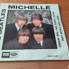 """Discos de vinilo: DISCO VINILO SINGLE THE BEATLES """"MICHELLE"""". Lote 262951605"""