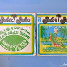 Discos de vinilo: BILLO'S CARACAS BOYS: QUE TONTERIA-EL CAIMAN. SINGLES VINILO. Lote 262952890