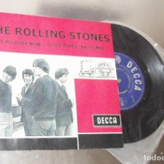 Discos de vinilo: THE ROLLING STONES -- IT´S ALL OVER NOW & GOOD TIMES BAD TIMES -- U.K. 1964 --VERY GOOD PLUS. Lote 262953220
