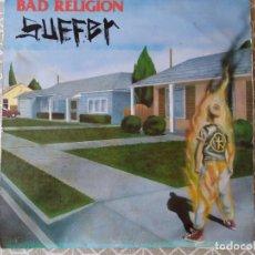 Discos de vinilo: BAD RELIGION. SUFFER. EPITAPH 1988.. Lote 262969590