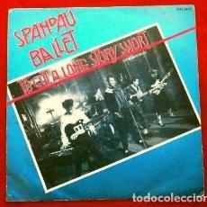 Discos de vinilo: SPANDAU BALLET (SINGLE 1980) TO CUT A LONG STORY SHORT (RESUMIENDO). Lote 262973175