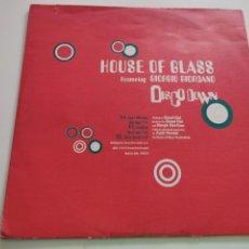 "Discos de vinilo: HOUSE OF GLASS - DISCO DOWN (12""). Lote 262973275"