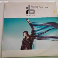 """Discos de vinilo: ILENE BARNES - THE CROWN (12""""). Lote 262975050"""