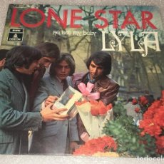Discos de vinilo: SINGLE LONE STAR - NO NOT MY BABY - LYLA - ODEON 1J006.20.175M -PEDIDO MINIMO 7€. Lote 262977005