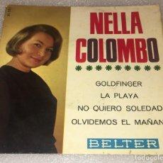 Discos de vinilo: EP NELLA COLOMBO - GOLDFINGER Y OTROS TEMAS - BELTER 51.523 -PEDIDO MINIMO 7€. Lote 262977660