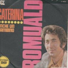 Discos de vinilo: 45 GIRI RARO ROMUAL CATERINA EUROVISIONE 1969 DISCHI AZ DISCO ITALIE CANTA IN ITALIANO. Lote 262986805