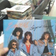 Discos de vinilo: SINGLE MUY BUEN ESTADO EXCESS SIGO AL TIEMPO HEAVY ESPAÑOL. Lote 263009330
