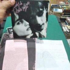 Discos de vinilo: SINGLE LOS BICHOS WISHIN SHIFT VG++++ PROMO CON 2 HOJAS. Lote 263011070