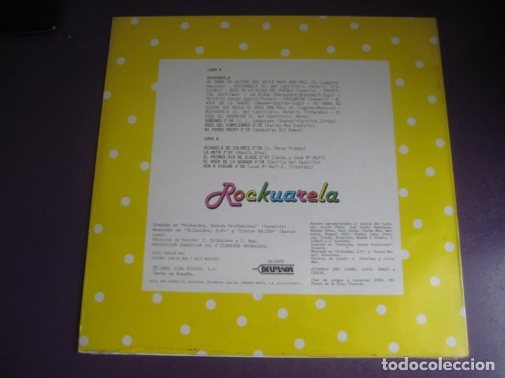 Discos de vinilo: Acuarela – Rockuarela - lp diapason1984 - precintado - pop rock infantil 80s - llobell - moll - et - Foto 2 - 263013480
