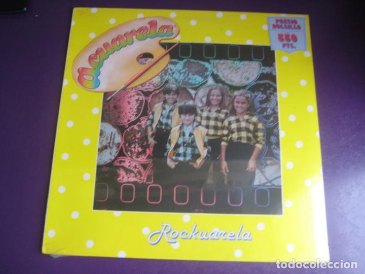 ACUARELA – ROCKUARELA - LP DIAPASON1984 - PRECINTADO - POP ROCK INFANTIL 80'S - LLOBELL - MOLL - ET (Música - Discos - LPs Vinilo - Música Infantil)