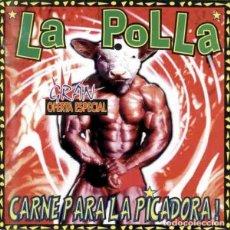Discos de vinilo: LA POLLA RECORDS CARNE PARA LA PICADORA (LP) . VINILO PUNK ROCK RADIKAL VASCO. Lote 263013755