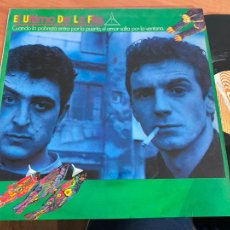 Disques de vinyle: EL ULTIMO DE LA FILA CUANDO LA POBREZA ENTRA POR LA PUERTA EL AMOR SALE POR LA VENTANA LP 1985 (B-29. Lote 263019080